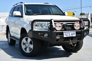 2013 Toyota Landcruiser VDJ200R MY12 Sahara Crystal Pearl 6 Speed Sports Automatic Wagon Claremont Nedlands Area Preview