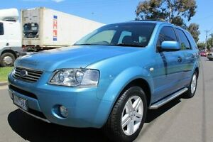 2005 Ford Territory SY Ghia AWD Blue 6 Speed Sports Automatic Wagon West Footscray Maribyrnong Area Preview