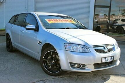 2011 Holden Commodore VE II MY12 Equipe Sportwagon Silver 6 Speed Auto Seq Sportshift Wagon Cranbourne Casey Area Preview