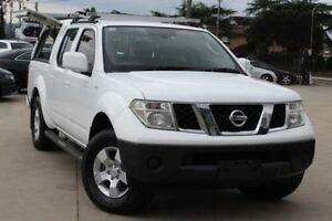 2010 Nissan Navara D40 ST (4x4) White 6 Speed Manual Dual Cab Pick-up Lansvale Liverpool Area Preview