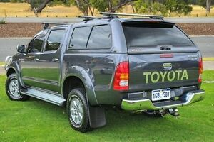 2009 Toyota Hilux KUN26R MY09 SR5 Grey 4 Speed Automatic Utility Wangara Wanneroo Area Preview