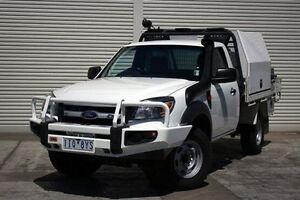 2011 Ford Ranger PK XL White 5 Speed Manual Cab Chassis Seaford Frankston Area Preview