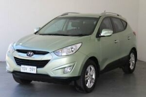 2010 Hyundai ix35 LM MY11 Elite (AWD) Green 6 Speed Automatic Wagon