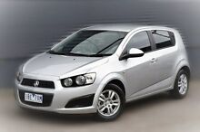 2013 Holden Barina TM MY14 CD Silver 5 Speed Manual Hatchback Berwick Casey Area Preview