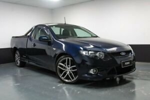 2011 Ford Falcon FG MkII XR6 Ute Super Cab Blue 6 Speed Sports Automatic Utility