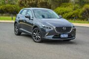 2016 Mazda CX-3 DK2W7A sTouring SKYACTIV-Drive Grey 6 Speed Sports Automatic Wagon Wilson Canning Area Preview
