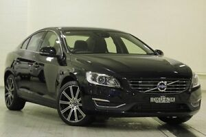 2015 Volvo S60 F MY16 T5 Luxury Onyx Black 8 Speed Automatic Sedan Dee Why Manly Area Preview