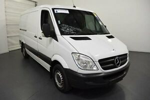 2012 Mercedes-Benz Sprinter NCV3 MY12 313CDI Low Roof SWB 7G-Tronic White Sports Automatic Van Moorabbin Kingston Area Preview