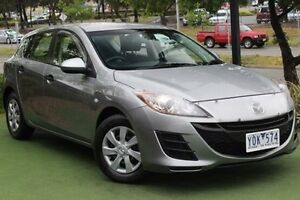 2011 Mazda 3 BL10F1 MY10 Neo Silver 6 Speed Manual Hatchback Berwick Casey Area Preview