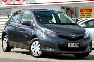 2013 Toyota Yaris NCP130R YR Grey 4 Speed Automatic Hatchback Woolloongabba Brisbane South West Preview