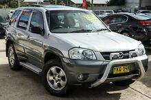 2002 Mazda Tribute Classic Silver 4 Speed Automatic Wagon Blacktown Blacktown Area Preview