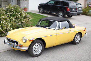 Great Little 1973 MGB Convertible - runs like a top