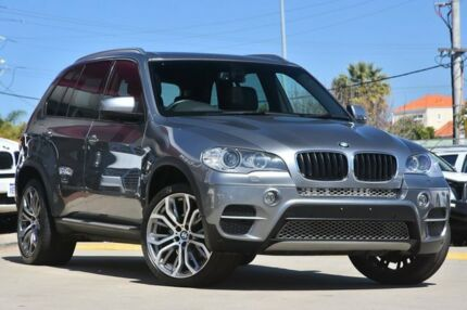 2012 BMW X5 E70 MY12 Upgrade xDrive 30D Grey 8 Speed Automatic Sequential Wagon