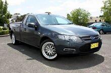 2012 Ford Falcon FG MkII Ute Super Cab Grey 6 Speed Auto Seq Sportshift Utility Orange Orange Area Preview