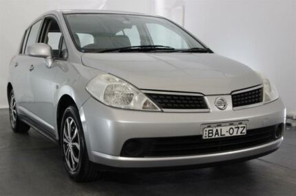 2006 Nissan Tiida C11 ST Silver 4 Speed Automatic Hatchback Maryville Newcastle Area Preview
