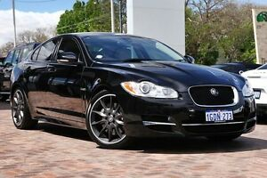 2011 Jaguar XF X250 MY11 S Luxury Black 6 Speed Sports Automatic Sedan Osborne Park Stirling Area Preview