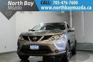 2018 Nissan Qashqai AWD with Heated Seats, Leather, Sunroof