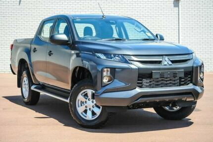 2018 Mitsubishi Triton MR MY19 GLX+ Double Cab Grey 6 Speed Manual Utility Morley Bayswater Area Preview