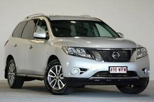 2014 Nissan Pathfinder R52 ST (4x4) Silver Continuous Variable Wagon Coopers Plains Brisbane South West Preview