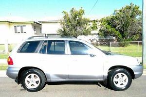 2003 Hyundai Santa Fe SM GLS Beige 4 Speed Sports Automatic Wagon South Gladstone Gladstone City Preview