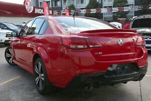 2015 Holden Commodore VF MY15 SV6 Storm Red Hot 6 Speed Automatic Sedan Homebush Strathfield Area Preview