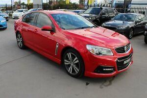 2015 Holden Commodore VF MY15 SV6 Red 6 Speed Manual Sedan Telarah Maitland Area Preview