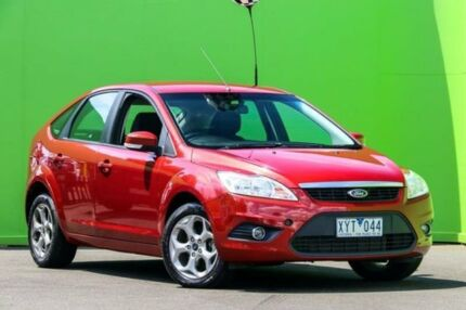2010 Ford Focus LV LX Orange 4 Speed Sports Automatic Hatchback Ringwood East Maroondah Area Preview