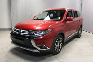 2016 Mitsubishi Outlander AWC GT Accident Free,  Leather,  Heate
