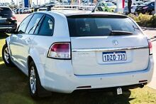 2009 Holden Commodore VE MY09.5 Omega Sportwagon White 4 Speed Automatic Wagon Wangara Wanneroo Area Preview