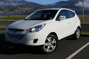 2011 Hyundai ix35 LM MY11 Active White 6 Speed Sports Automatic Wagon Invermay Launceston Area Preview
