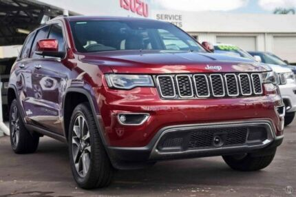 2017 Jeep Grand Cherokee WK MY18 Limited Red 8 Speed Sports Automatic Wagon