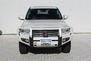 2012 Toyota Landcruiser VDJ200R MY12 Sahara White 6 Speed Sports Automatic Wagon Embleton Bayswater Area Preview