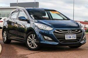 2014 Hyundai i30 GD2 MY14 Trophy Blue 6 Speed Sports Automatic Hatchback East Rockingham Rockingham Area Preview