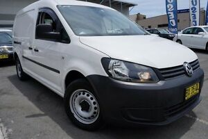 2013 Volkswagen Caddy 2KN MY14 TDI250 BlueMOTION Maxi DSG White 7 Speed Sports Automatic Dual Clutch Pearce Woden Valley Preview
