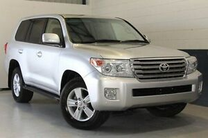 2013 Toyota Landcruiser Silver Sports Automatic Wagon Blair Athol Port Adelaide Area Preview