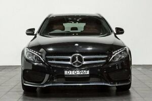 2015 Mercedes-Benz C250 S205 Estate 7G-Tronic + Black 7 Speed Sports Automatic Wagon