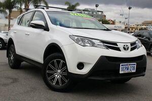2014 Toyota RAV4 ZSA42R MY14 GX 2WD Glacier White 7 Speed Constant Variable Wagon Northbridge Perth City Area Preview