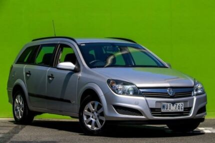 2009 Holden Astra AH MY09 CD Silver 4 Speed Automatic Wagon Ringwood East Maroondah Area Preview