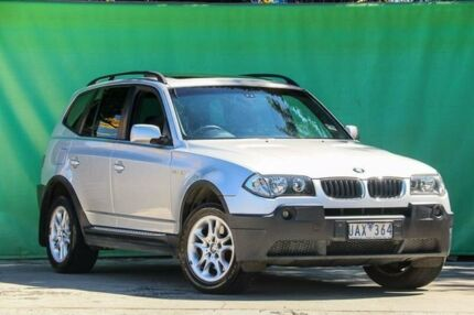 2006 BMW X3 E83 MY06 Steptronic Silver 5 Speed Sports Automatic Wagon Ringwood East Maroondah Area Preview