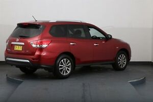 2014 Nissan Pathfinder R52 ST (4x2) Burgundy Continuous Variable Wagon Smithfield Parramatta Area Preview