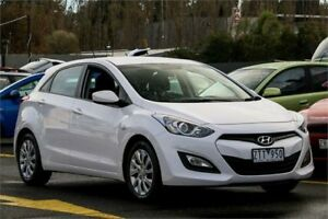 2013 Hyundai i30 GD Active White 6 Speed Sports Automatic Hatchback Ringwood East Maroondah Area Preview