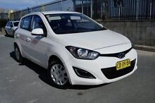 2012 Hyundai i20 PB MY12 Active White 4 Speed Automatic Hatchback Pearce Woden Valley Preview