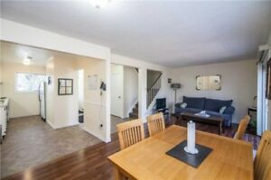 3 bedroom freehold end unit house with Finished basement Call !