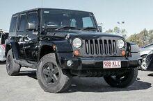 2007 Jeep Wrangler JK Unlimited Sport Black 5 Speed Automatic Softtop Sinnamon Park Brisbane South West Preview