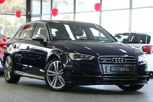 2014 Audi S3 8V MY14 Sportback S tronic quattro Blue 6 Speed Sports Automatic Dual Clutch Hatchback Roseville Ku-ring-gai Area Preview