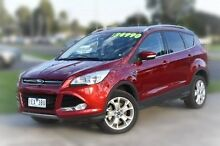 2014 Ford Kuga TF MY15 Trend PwrShift AWD Red 6 Speed Sports Automatic Dual Clutch Wagon Berwick Casey Area Preview