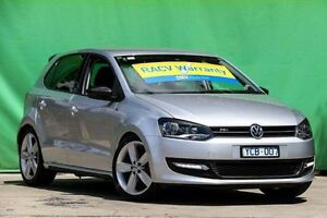 2010 Volkswagen Polo 6R MY11 77TSI DSG Comfortline Silver 7 Speed Sports Automatic Dual Clutch Ringwood East Maroondah Area Preview