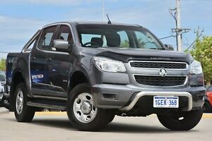 2012 Holden Colorado RG LX (4x4) Grey 6 Speed Automatic Utility Victoria Park Victoria Park Area Preview