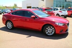 2013 Mazda 6 GJ1031 Sport SKYACTIV-Drive Red 6 Speed Sports Automatic Sedan Wilson Canning Area Preview