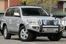 2013 Toyota Landcruiser VDJ200R MY13 Sahara Silver Pearl 6 Speed Sports Automatic Wagon Adelaide CBD Adelaide City Preview